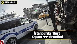 İstanbul'da ''Kurt Kapanı-11'' denetimi