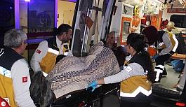 Konya'da bar önünde silahlı kavga: 2 yaralı