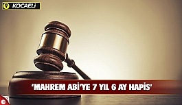 'Mahrem abi'ye 7 yıl 6 ay hapis