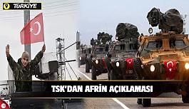 'Zeytin Dalı Harekatı'nda 25'inci gün; 1439 terörist öldürüldü