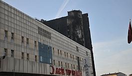 Yangın çıkan Taksim Eğitim ve Araştırma Hastanesi'nde bugün