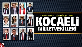 Kocaeli'de milletvekili dağılımı:...
