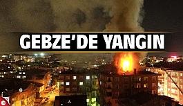 Gebze'de ev yangını!