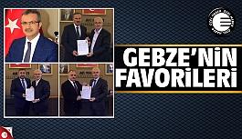 AK Parti Gebze'nin en favori isimleri...