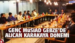 Alican Karakaya Genç MÜSİAD Gebze Başkanı oldu
