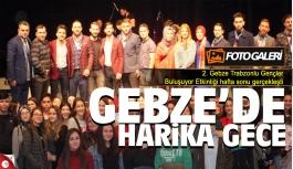 Trabzonlu gençler Gebze'de şov yaptı