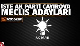 AK Parti Çayırova Meclis Üyesi Listesi...