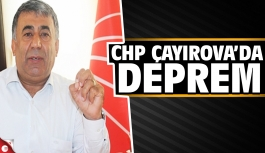 Çayırova CHP'de deprem