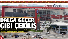 Gebze Center'dan 2 top dondurma!