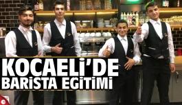 Kocaeli'de ücretsiz barista eğitimi
