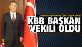Yaşar Çakmak Büyükşehir Belediyesi Başkan Vekili oldu