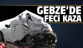 Gebze'de feci kaza: 2 ağır yaralı