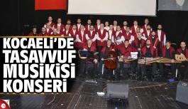 Kocaeli'de Tasavvuf Musikisi Konseri