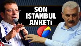 Son İstanbul seçim anketini açıkladı