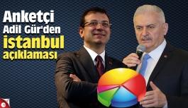 Anketçi Adil Gür'den İstanbul açıklaması