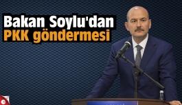 Bakan Soylu'dan PKK göndermesi