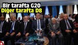Bir tarafta G20 Diğer tarafta D8
