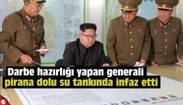 Darbe hazırlığı yapan generali pirana dolu su tankında infaz etti