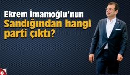 Ekrem İmamoğlu'nun Sandığından hangi parti çıktı?