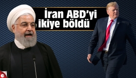 İran ABD'yi ikiye böldü