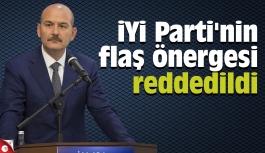 İYİ Parti'nin flaş önergesi reddedildi