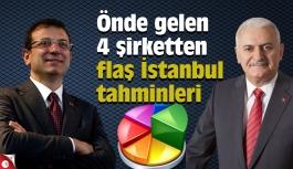 Önde gelen 4 şirketten flaş İstanbul tahminleri