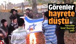 İsrail Bayrağı yakan Yahudiler şok etti