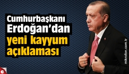 Cumhurbaşkanı Erdoğan'dan yeni kayyum açıklaması