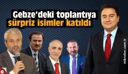 Babacan'ın partisi Gebze'de ilk toplantısını yaptı