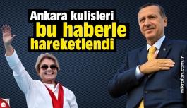 """""""Erdoğan, Çiller'le görüştü"""" iddiası kulisleri hareketlendirdi"""
