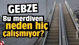 Malkoçoğlu Mehmet Bey üst geçidinde merdiven sıkıntısı
