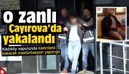 Vapur sapığı Çayırova'da yakalandı