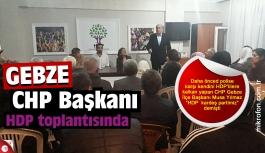 CHP'li Musa Yılmaz'ın HDP aşkı