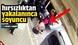 Hırsızlıkla suçlanan kadın çırılçıplak soyundu