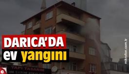 Darıca'da ev yangını