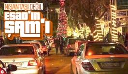 Şam'da Noel hazırlıkları tamamlandı