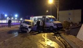 Darıca'da feci kaza: 11 yaralı