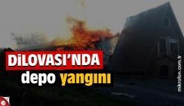Dilovası'nda depo yangını