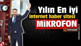 Yılın EN iyi İnternet Haber sitesi Mikrofon seçildi
