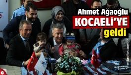 Ahmet Ağaoğlu Kocaeli'ye geldi