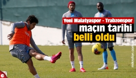 Malatyaspor – Trabzonspor maç tarihi belli oldu