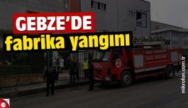 GGOSB'da yağ fabrikası yangını