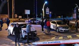 Darıca'da iki otomobil çarpıştı: 4 yaralı