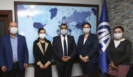 AK Parti Edirne Milletvekili Aksal ve İl Başkanı İba'dan AA'ya taziye ziyareti