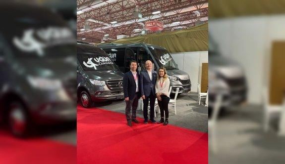 Bursalı firmanın ürettiği minibüslerin ABD'ye ihracına başlandı