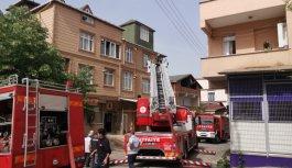 Gebze'de ev yangını hızlı söndürüldü