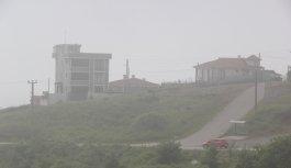 Sakarya'nın yüksek kesimlerinde yoğun sis