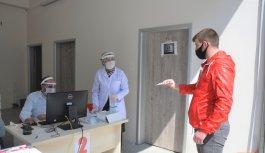 Bursa'da asker adaylarına koronavirüs testi
