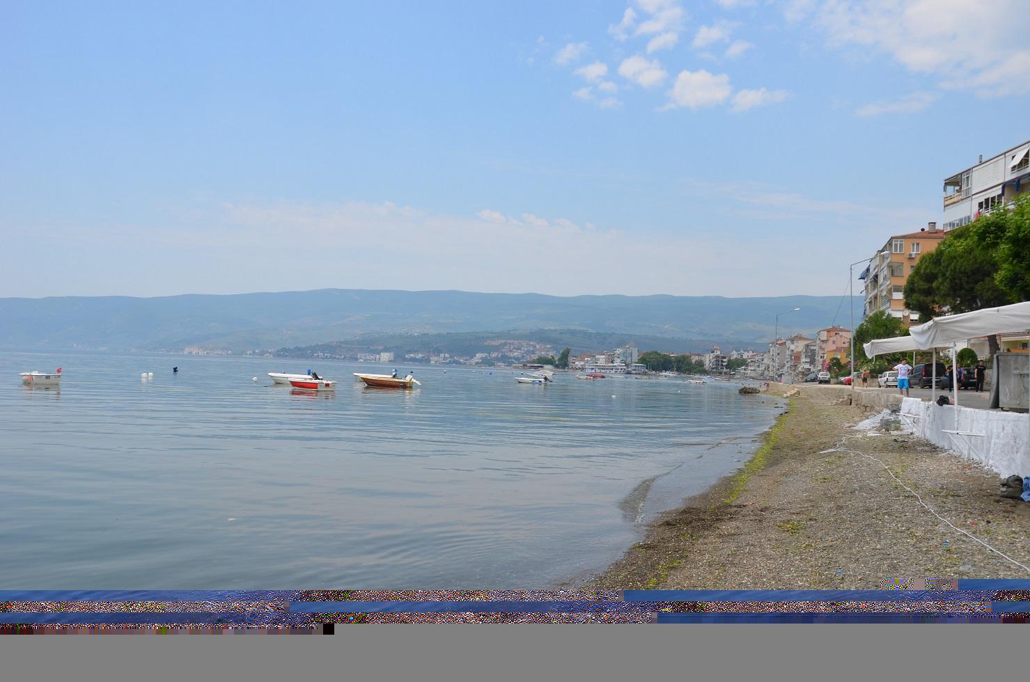 Bursa'da sahillerin