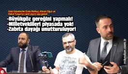 Malkoç, Oğuz ve Turgut'un canlı yayını gündem oldu